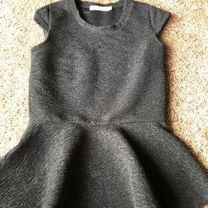 Chloe K Black Peaplum Blouse Size: XS